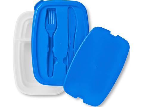 Salade en lunchbox