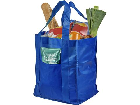 Savoy Laminated Non-Woven Grocery Tote