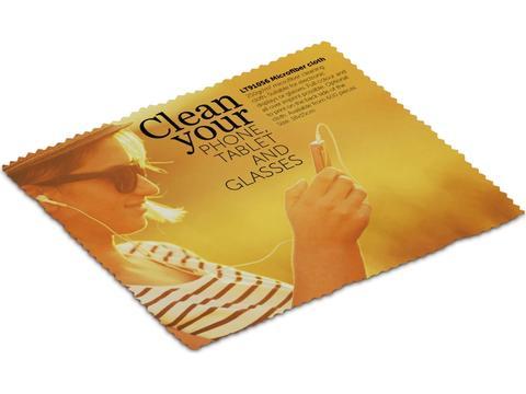 Schoonmaakdoekje voor bril of smartphone