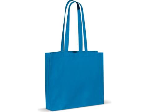 Shopping bag Oekotex coloured 40x35x10cm