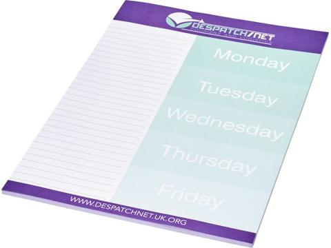 Desk-Mate® A4 notepad 25 sheets