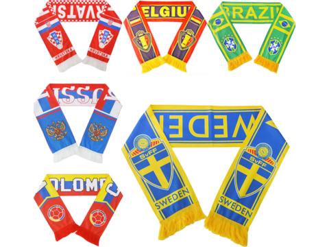 Poli Fan scarves