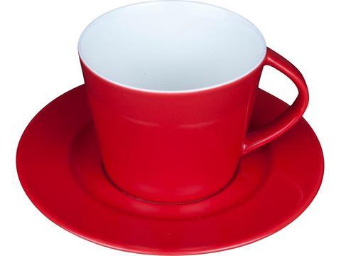 Set Italiano koffiekopje met ondertasje 20 cl