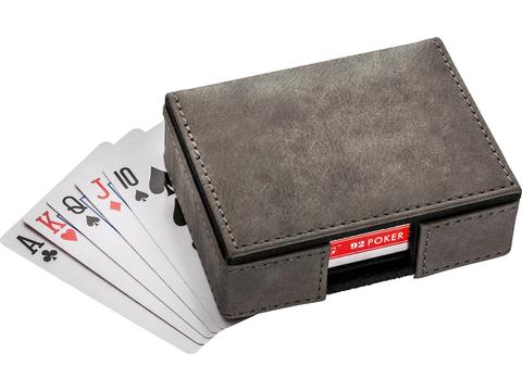 Set speelkaarten in luxe box
