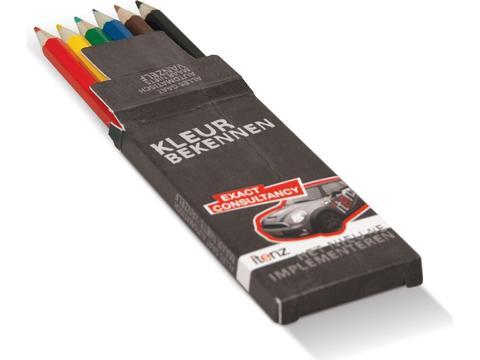 Boîte sur mesure avec crayons