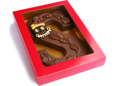 Fair Trade Sint Chocoladeletter