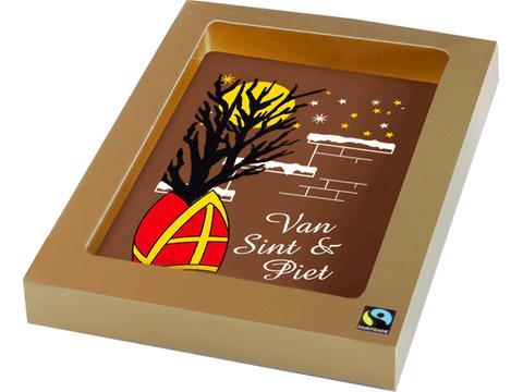 Chocoladekaart van Sint & Piet