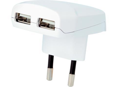 Skross Chargeur USB européen