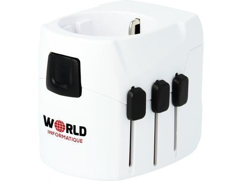 Skross adaptateur de voyage PRO Light USB