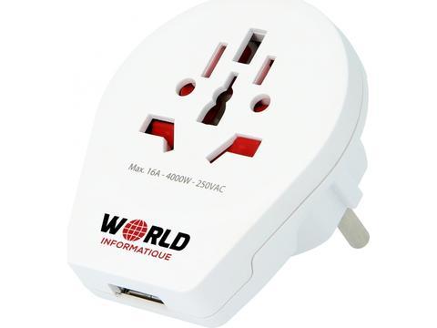 Skross World to Europe USB