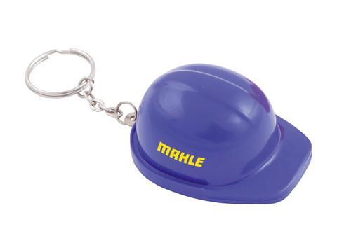 Key-ring bottle opener helmet
