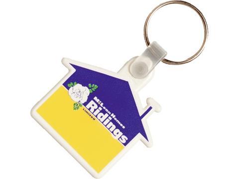 Porte-clés plastique Maison