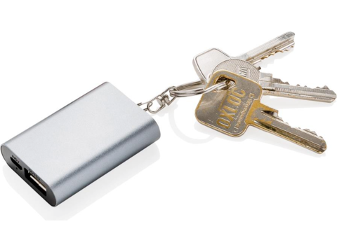 Porte-clés powerbank 1000mAh