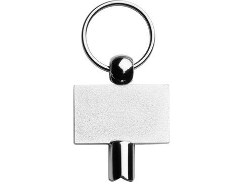 Porte-clés avec clé chauffante