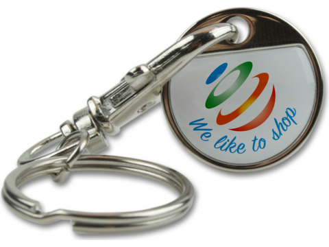 Key Ring Shopping Token