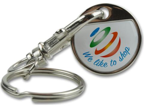 Key Ring Shopping Token