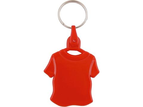 Porte-clés plastique Tee-shirt