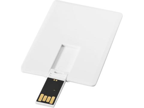 Slim credit card USB - 4GB
