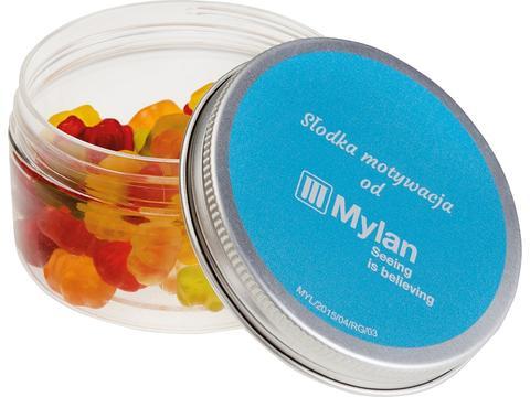 Smart box with mini jelly bears