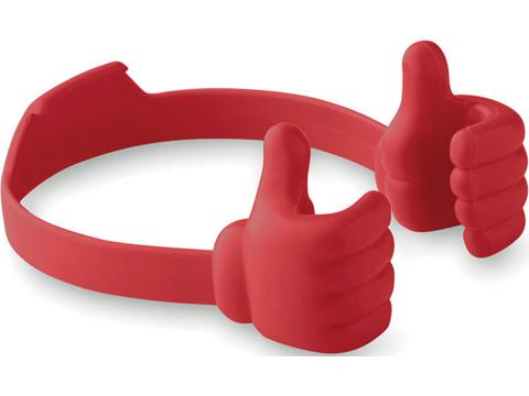 Thumbs up smartphone holder
