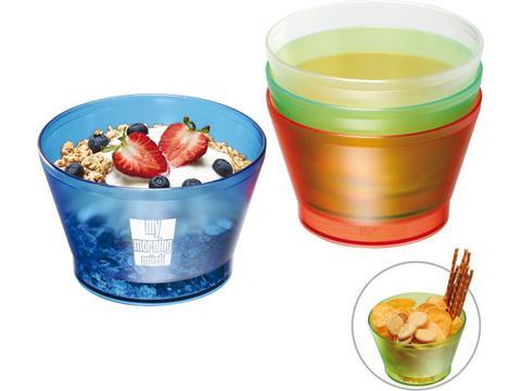 Snack and muesli bowl