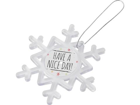 Sneeuwvlok magneet met hanger