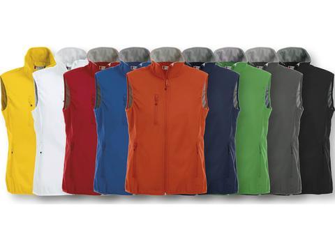 Softshell Vest met veel zakken