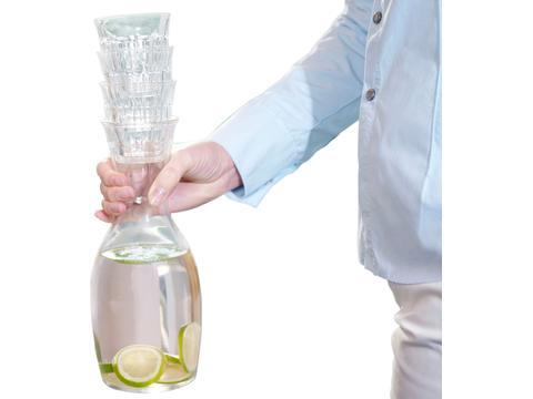 Solutions Karafset met 4 glazen