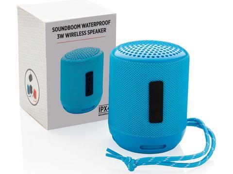 Soundboom waterdichte 3W draadloze speaker