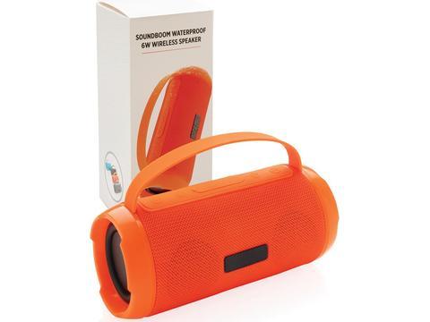 Soundboom waterdichte 6W draadloze speaker