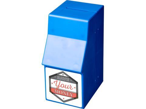 Tirelire plastique Capital en forme de distributeur