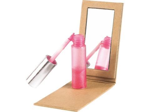 Recycled carton mirror