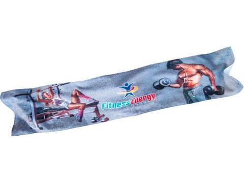 Sport handdoek full colour 30 x 130 cm