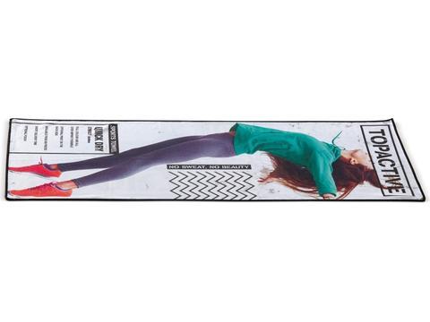 Serviette fitness avec impresson sur mesure