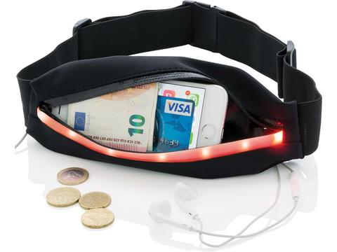 Running belt with LED