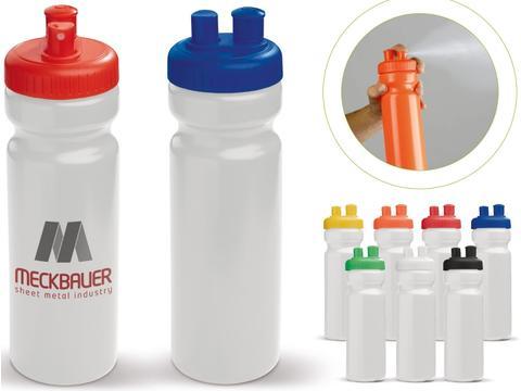 Sports bottle with vaporiser - 750 ml