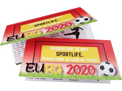 Sportlife Kauwgom EK voetbal met speelschema