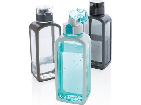 Squared lekvrije waterfles - 600 ml