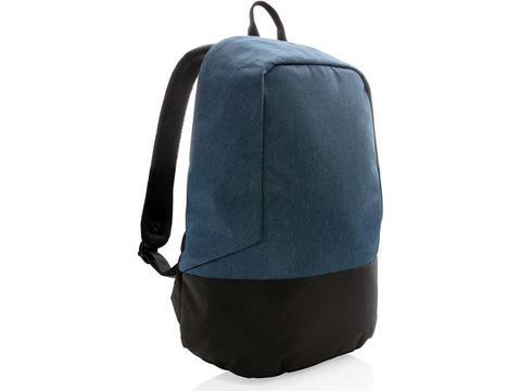 Standard RFID anti theft backpack PVC free