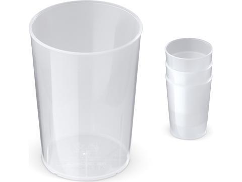 Stapelbare Eco Cup - 250 ml