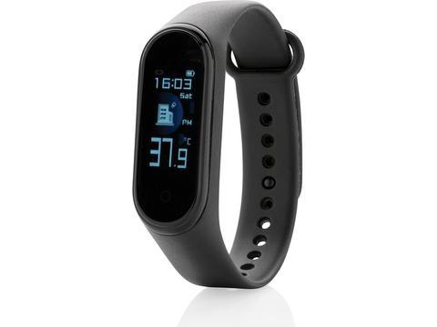Stay healthy activity tracker met temperatuur sensor