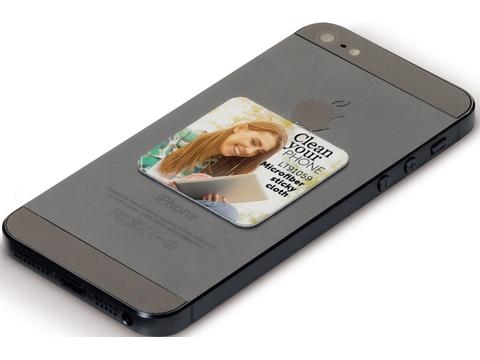 Sticky cleaner schoonmaakdoekje voor smartphone