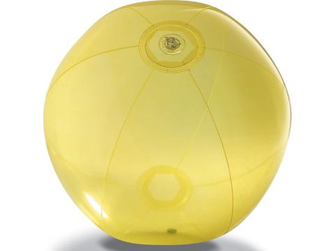 Transparent beach ball Aqua