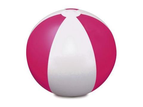 Two colour beach ball