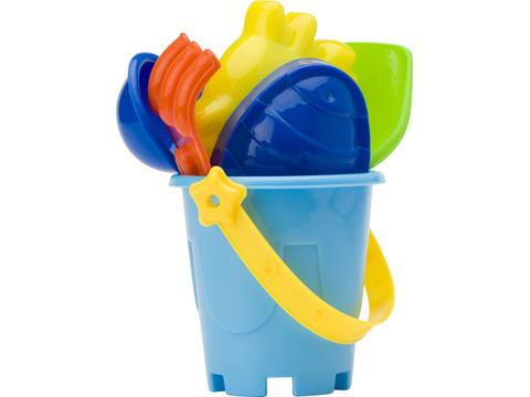 Mini beach bucket in four colours