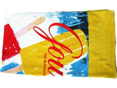 Reactive printed Beach Towels