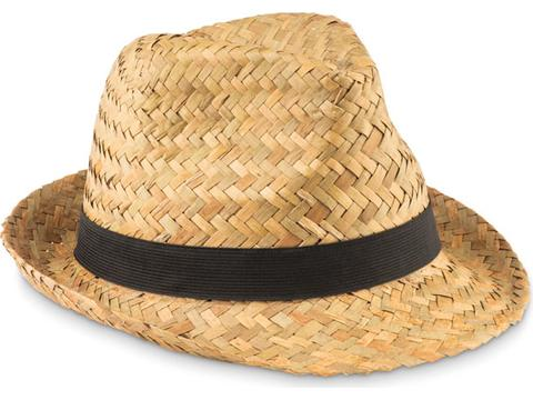 Chapeau en paille naturelle