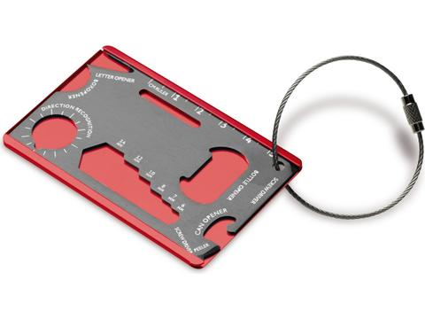 Survival multi-tool card