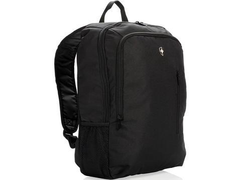 "Swiss Peak 17"" business laptop backpack"