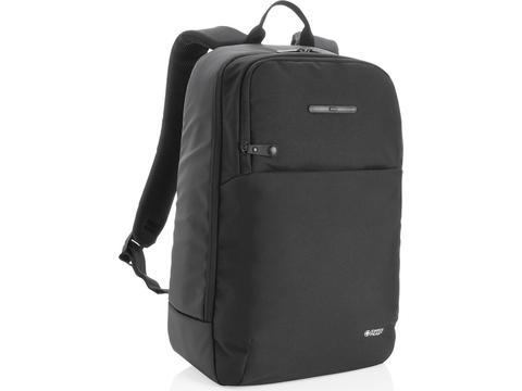 Swiss Peak laptop backpack with UV-C steriliser pocket